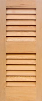Cypress Louver Shutters