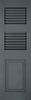 Fiberglass 3 Combo Shutters