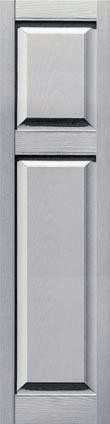 Vinyl Cottage Panel Shutters